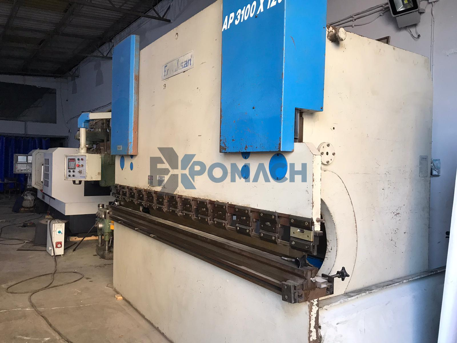Ermaksan 3 meter 6 mm Press Brake