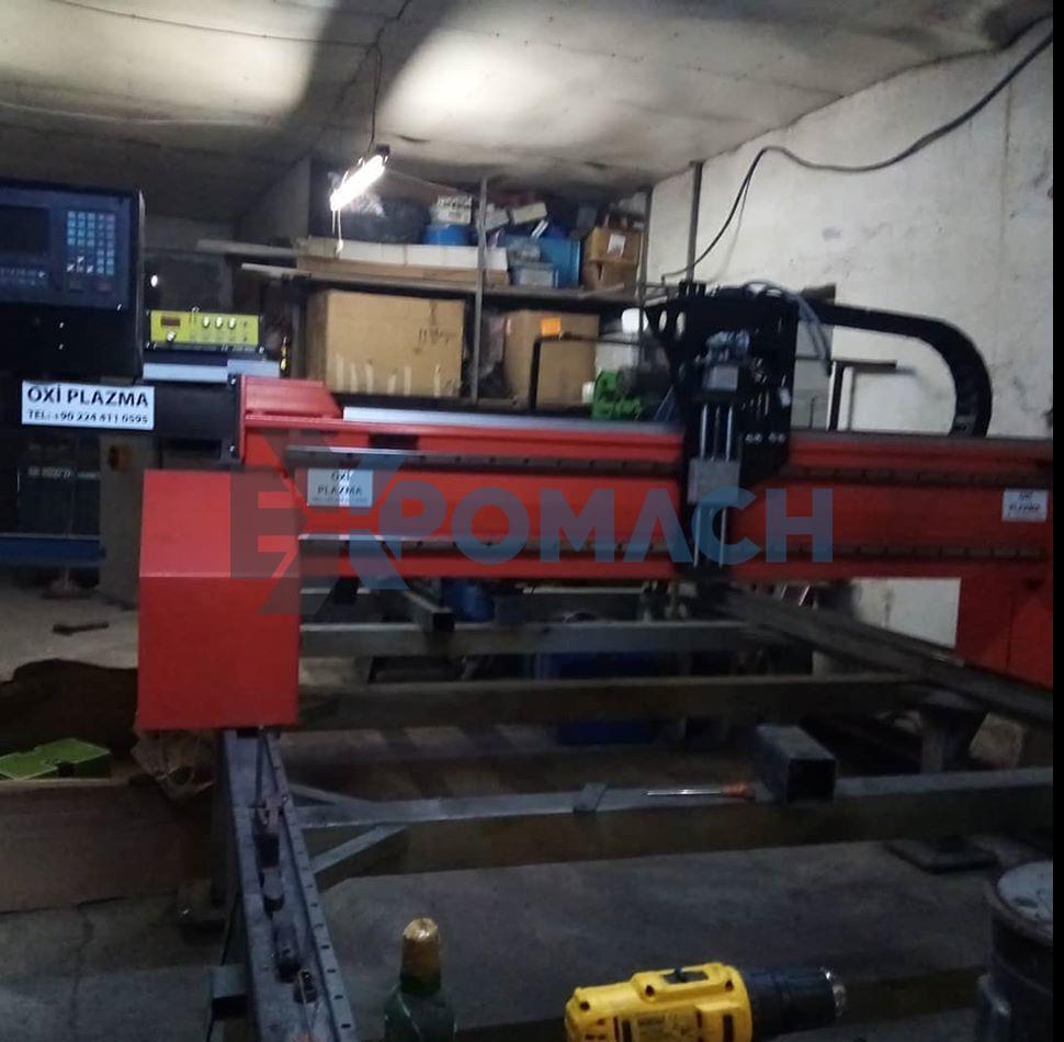 CNC Plazma Kesme Makinası