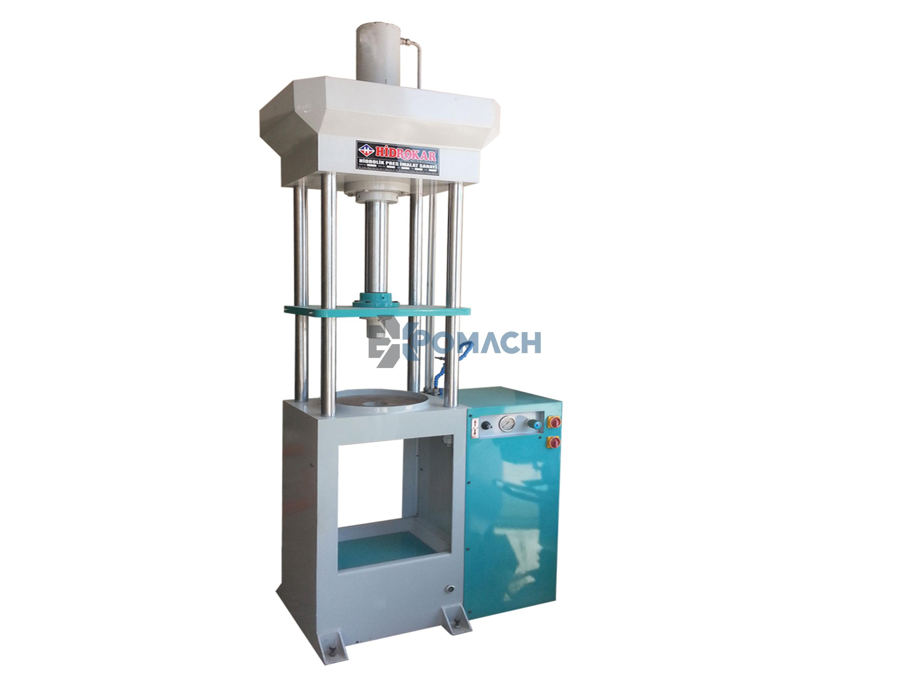 Broş Basma Presi - Vertical Push Broaching Press