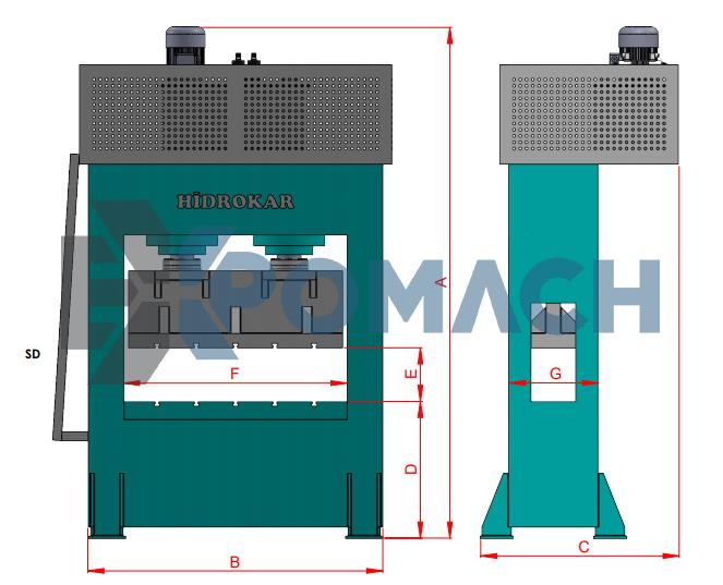 Sheet Texture Press _ Saç Desen Presi