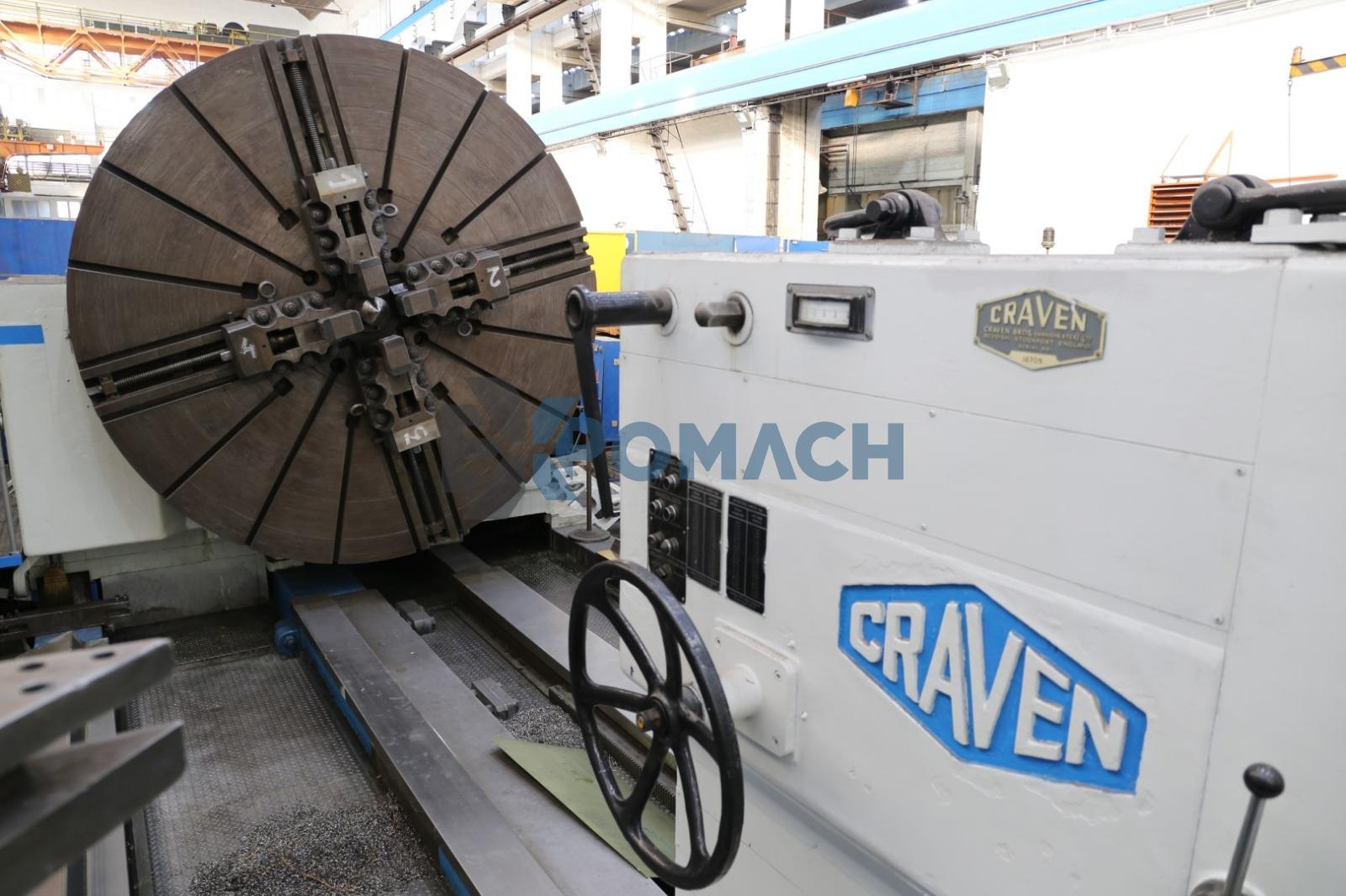 Heavy duty lathe Craven 3684 x 15000 mm