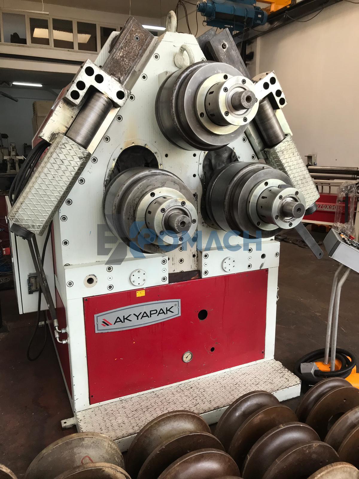 AKYAPAK Profil Bükme Makinesi APK 121 - Kalıplar Dahil